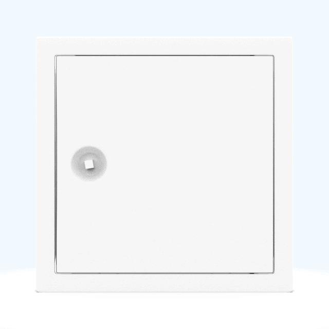 Trappe de visite métallique blanc trappe de visite metallique softline ouverture 4 pans