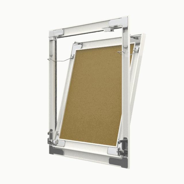 Trappe de visite plaque de plâtre Tempo Eco Green pousser lâcher trappe de visite plaque de platre eco green 360 0 13