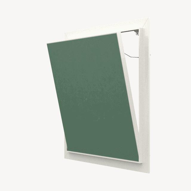 Trappe de visite plaque de plâtre Tempo Eco Green pousser lâcher trappe de visite plaque de platre eco green 360 0 3