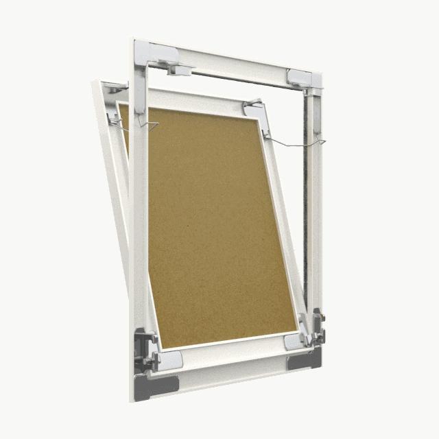Trappe de visite plaque de plâtre Tempo Eco Green pousser lâcher trappe de visite plaque de platre eco green 360 0 7