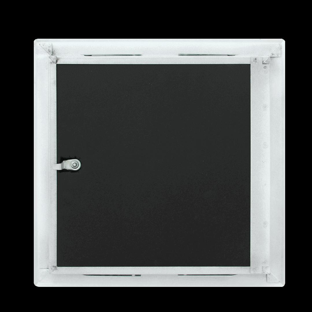 Trappe de visite étanche à l'air et isolation acoustique ouverture clé 4 pans 22 831 Softline Iso hinten