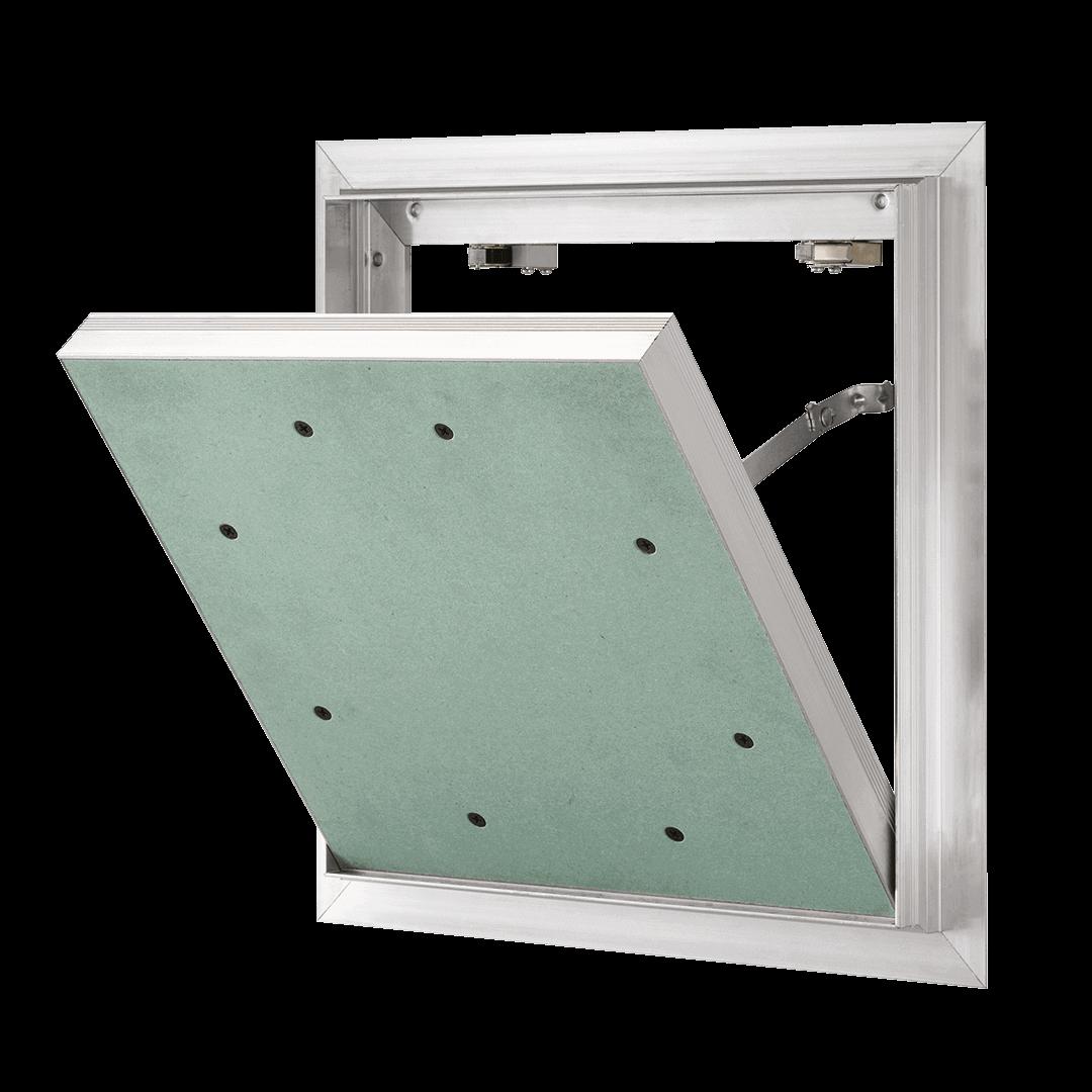 Trappe de visite - SOFTLINE VENTIL – Avec fente de ventilation ouverture clé plastique 4 pans