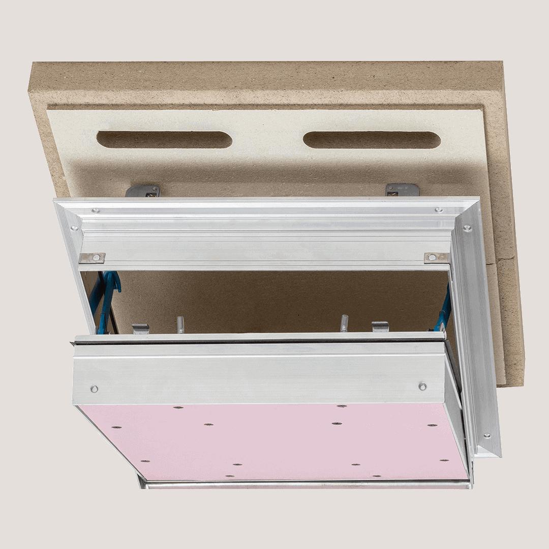 Trappe de visite pour faux plafond EI90 Alumatic