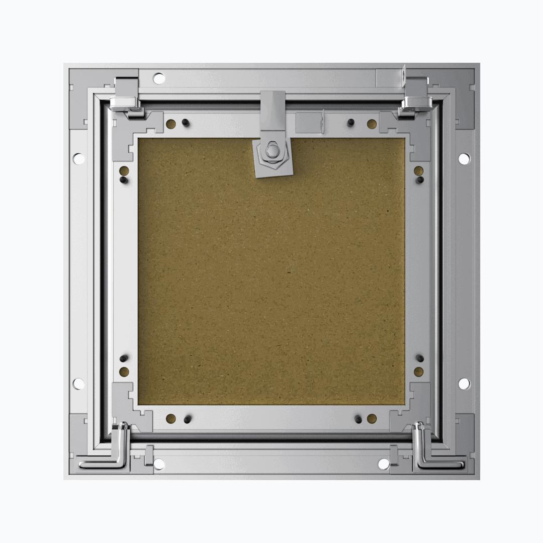 Trappe de visite plaque de plâtre 18 mm Eco Star trape de visite plaque de platre alustar 4 pans derriere