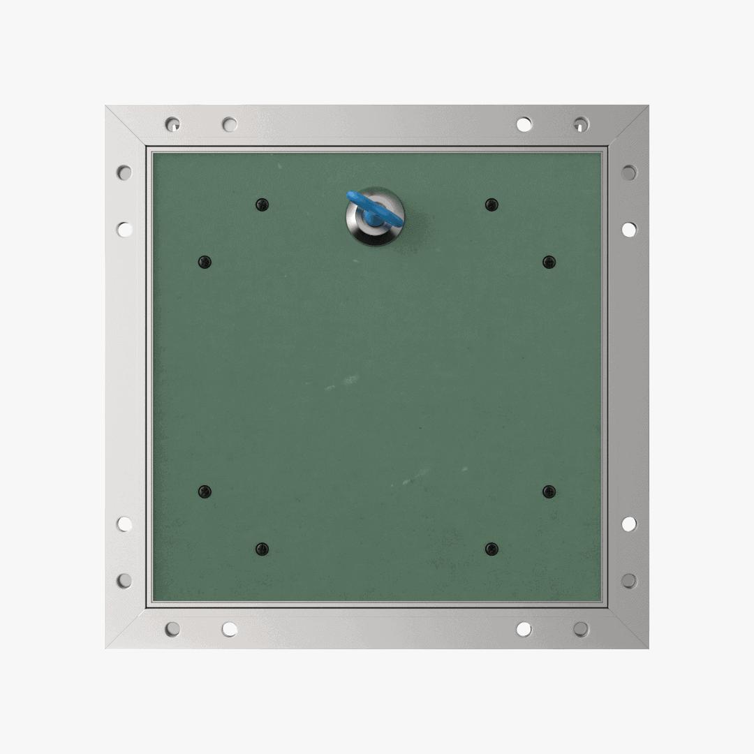 Trappe de visite plaque de plâtre 12,5 mm Eco Star trape de visite plaque de platre alustar 4 pans