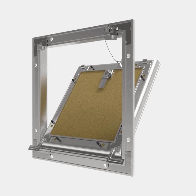 Trappe de visite plaque de plâtre 18 mm Eco Star trape de visite plaque de platre eco star 360 0 12