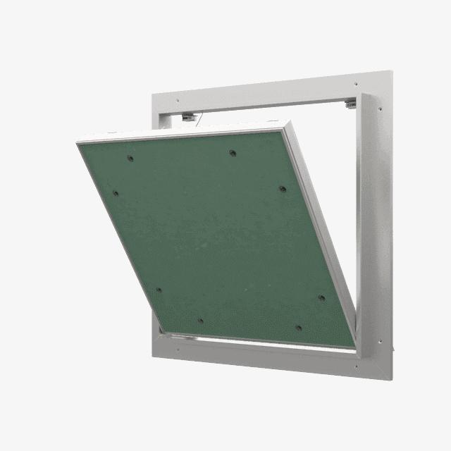 Trappe de visite plaque de plâtre 12,5 mm Eco Star trape de visite plaque de platre eco star pousser lacher 360 0 12