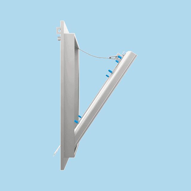 Trappe de visite plaque de plâtre 12,5 mm Eco Star trape de visite plaque de platre eco star pousser lacher 360 0 5