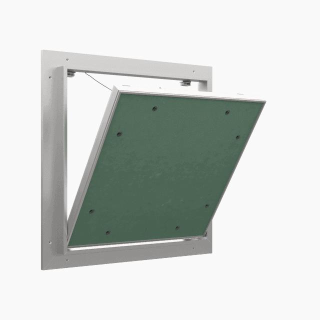 Trappe de visite plaque de plâtre 12,5 mm Eco Star trape de visite plaque de platre eco star pousser lacher 360 0 8
