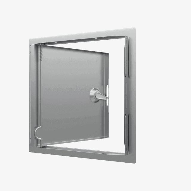 Trappe de visite métallique colorée Tempo Softline Clé carrée trappe de visite metallique ouverte sur mesure softline 360 4 pans 0 11